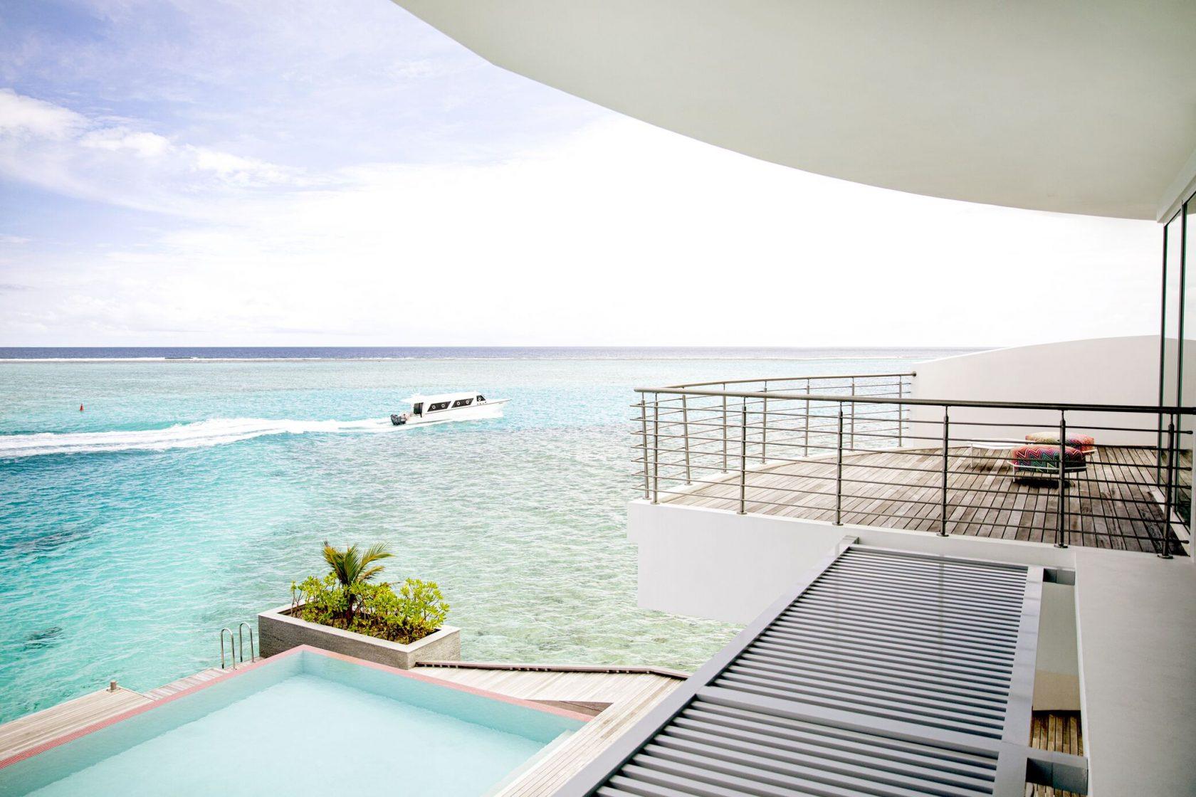 Jumeirah Maldives Three Bedroom Water Retreat Pool