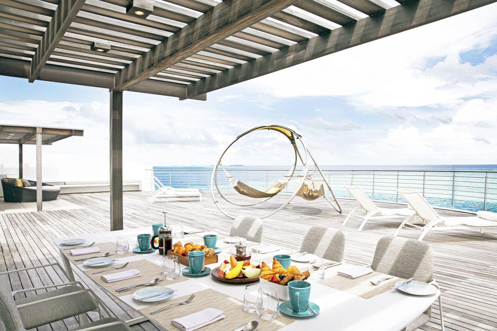 Jumeirah Maldives Rooftop Dining