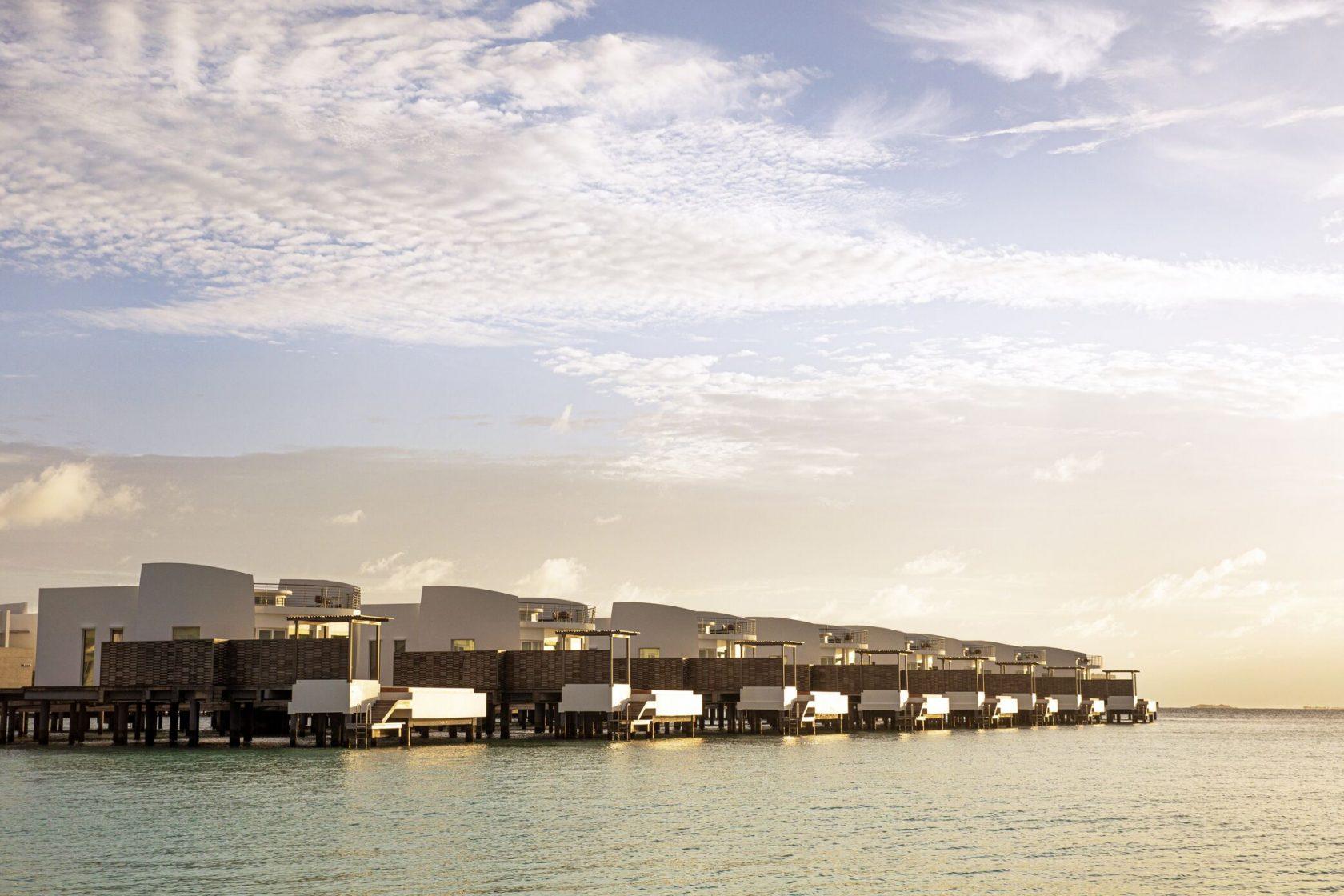 Jumeirah Maldives Water Villa Sunset