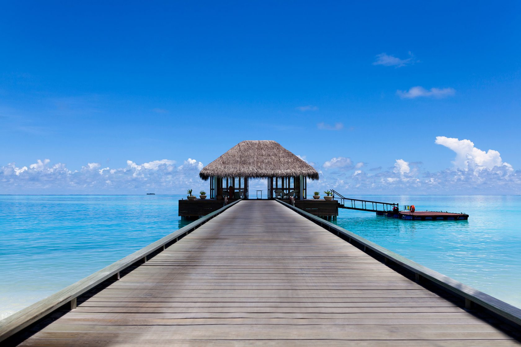 Niyama Island Resort Maldives Arrival Jetty