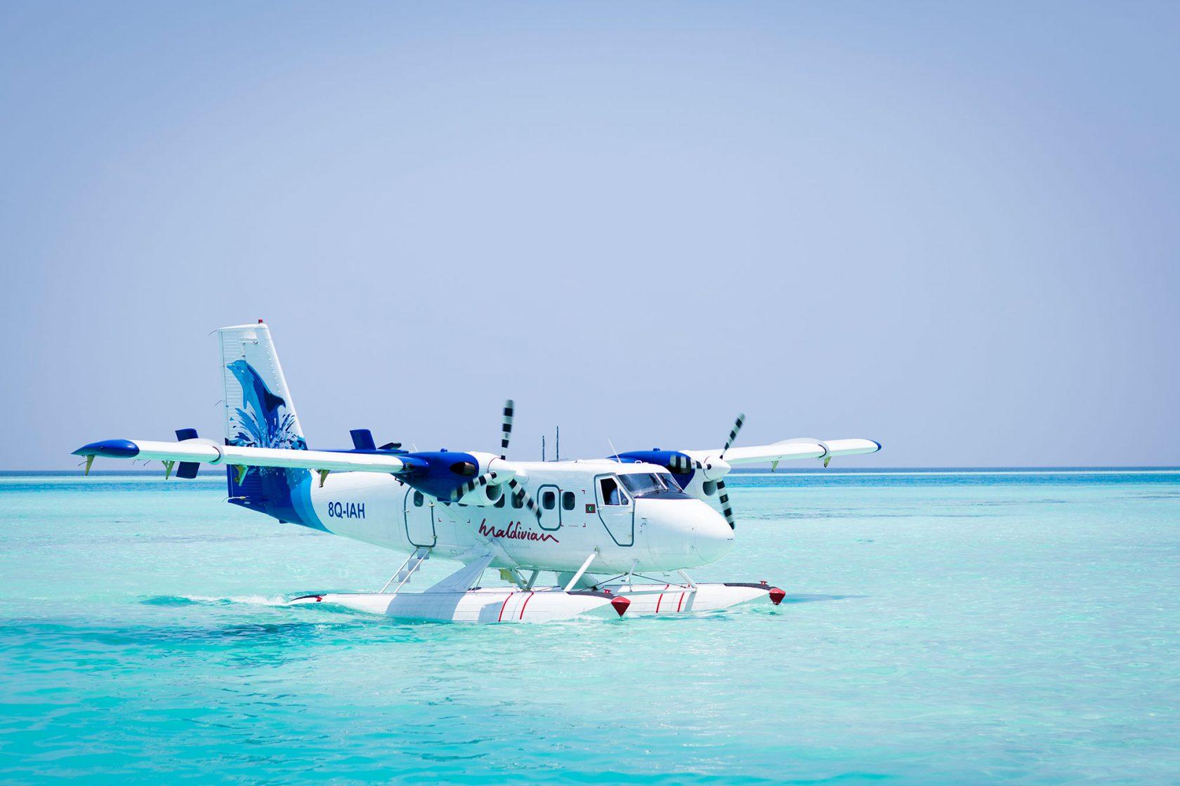 Niyama Island Resort Maldives Arrival Plane
