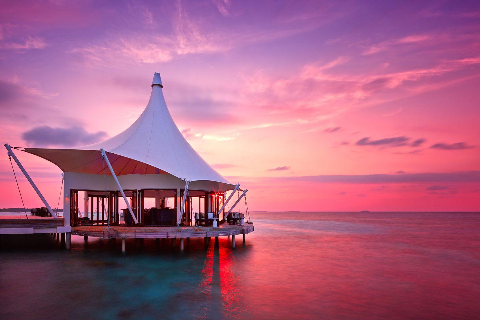 Niyama Island Resort Maldives Edge Sunset