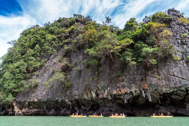 Privatreise, Rundreise, Familienreise Thailand: Kanufahrt