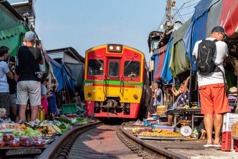 Privatreise, Rundreise, Familienreise Thailand: Railway Market