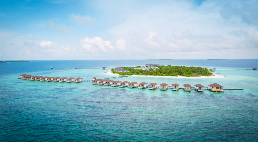 Robinson Club Noonu auf der Insel Orivaru im Noonu-Atoll