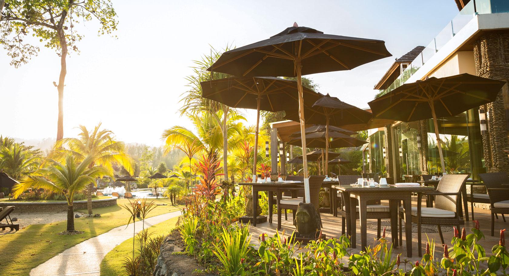 Restaurant Terrace des Robinson Club Khao Lak