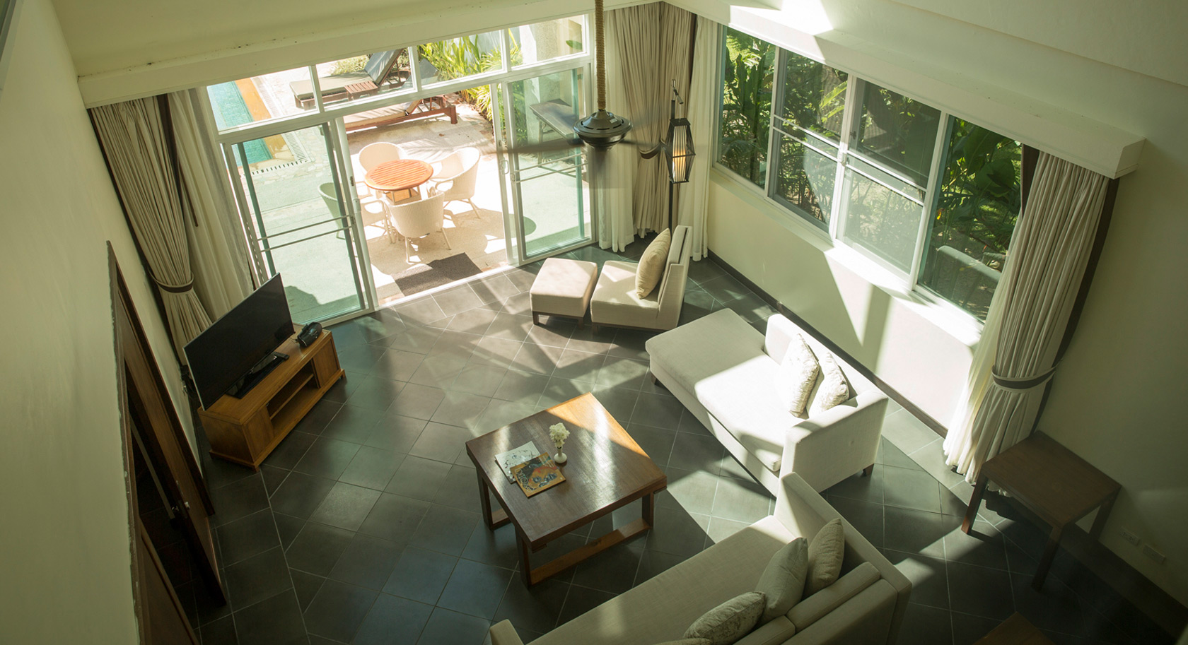 Robinson Khao Lak Villen Wohnbereich