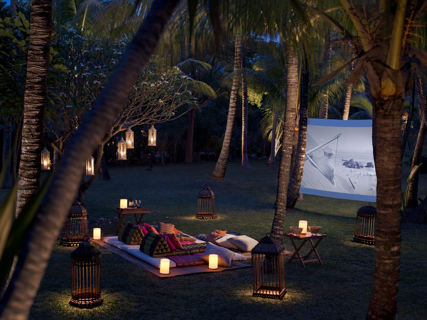 Shangri-La Touessrok Outdoor-Cinema