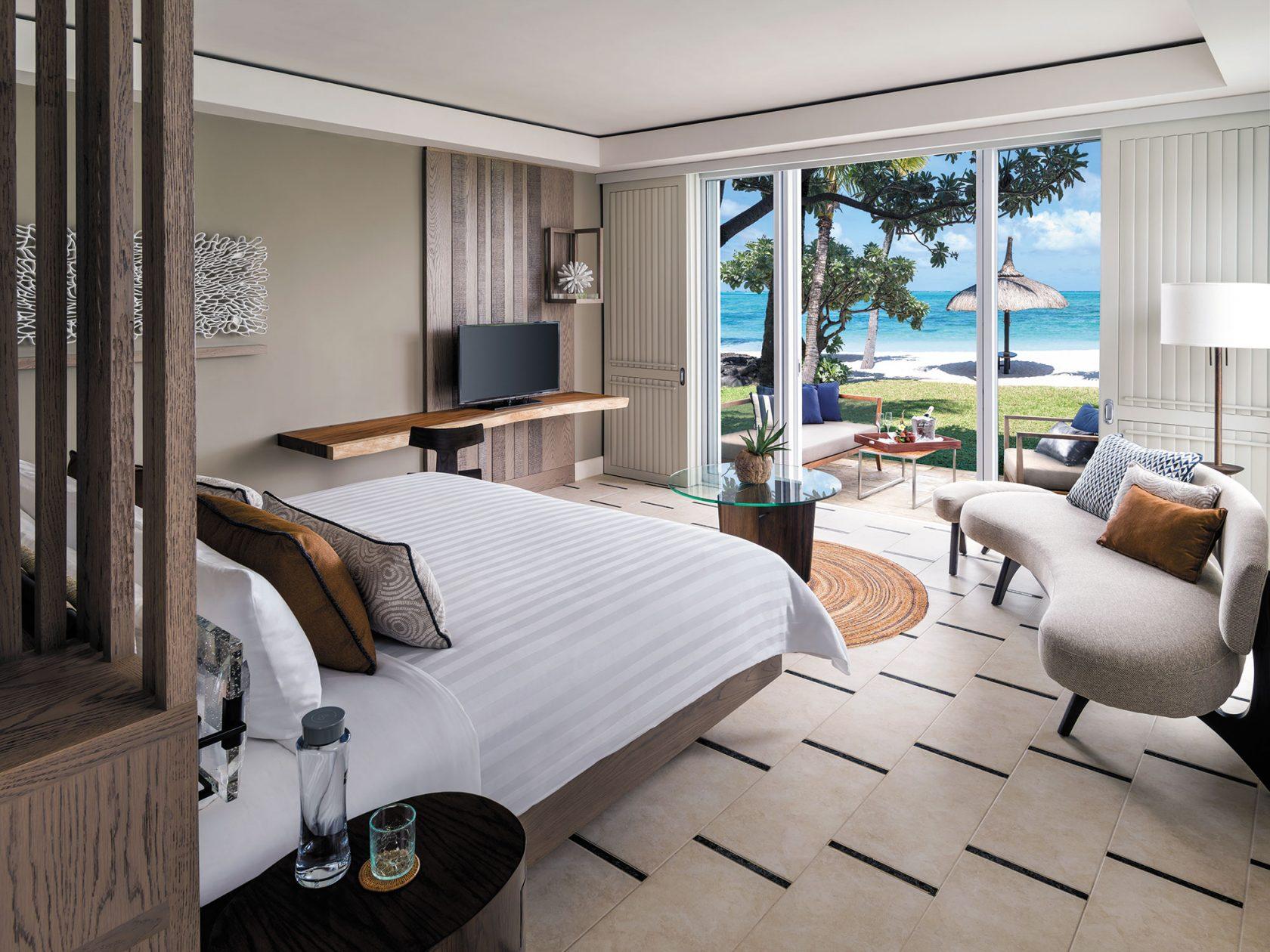 Shangri-La Touessrok Zimmer mit Strandzugang
