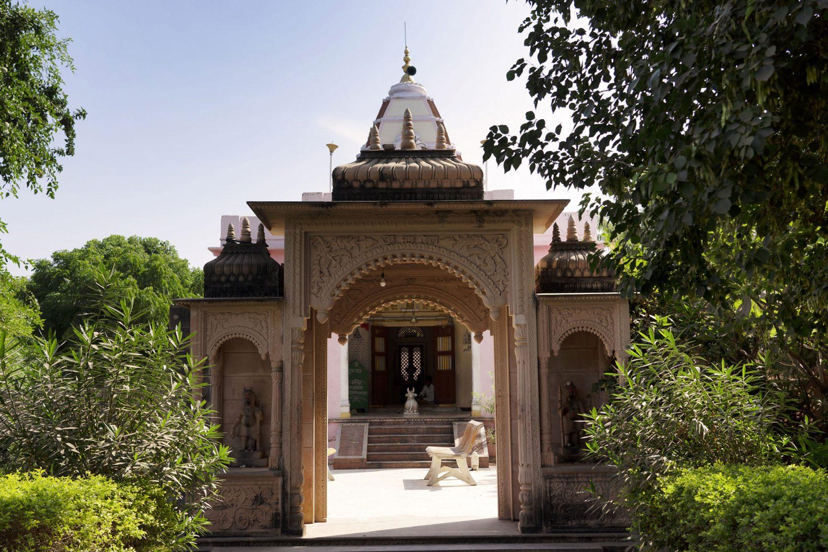 Six Senses Fort Barwara Family Tempel