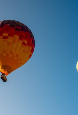 Six Senses Ibiza 1 - Heißluftballon über Ibiza