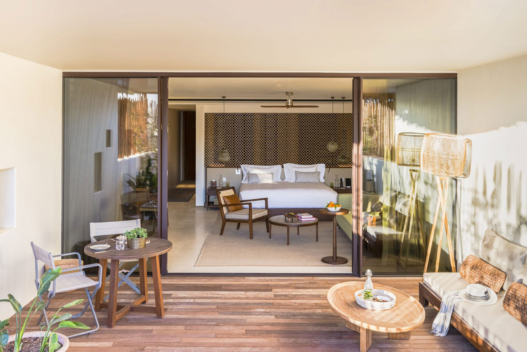 Six Senses Ibiza Terrace Living Area