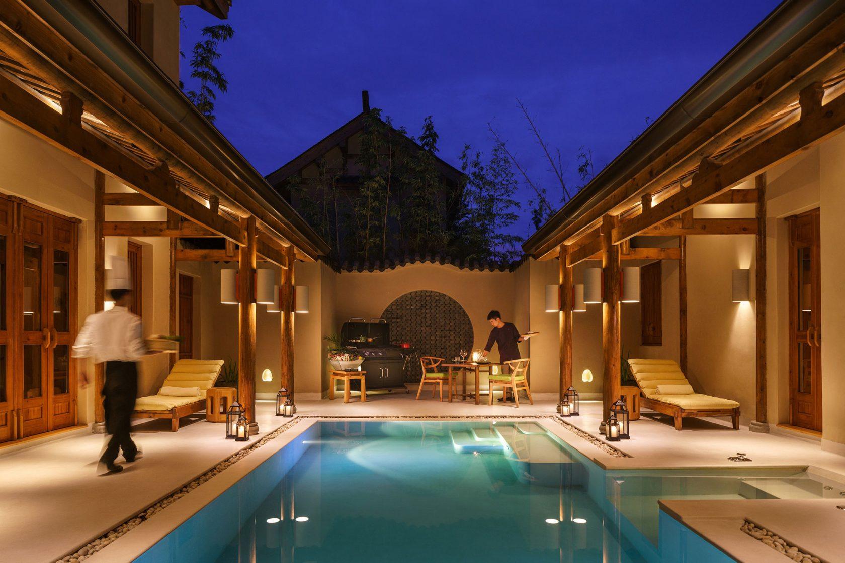 Six Senses Qing Cheng Mountain In Villa Barbecue