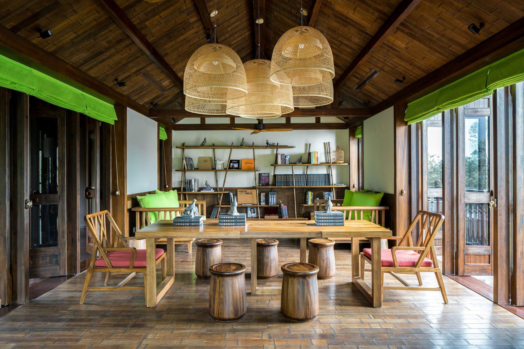 Six Senses Qing Cheng Mountain Library
