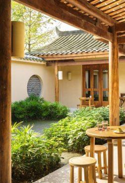 Six Senses Qing Cheng Mountain 3 - Qing Cheng Tee Handwerk
