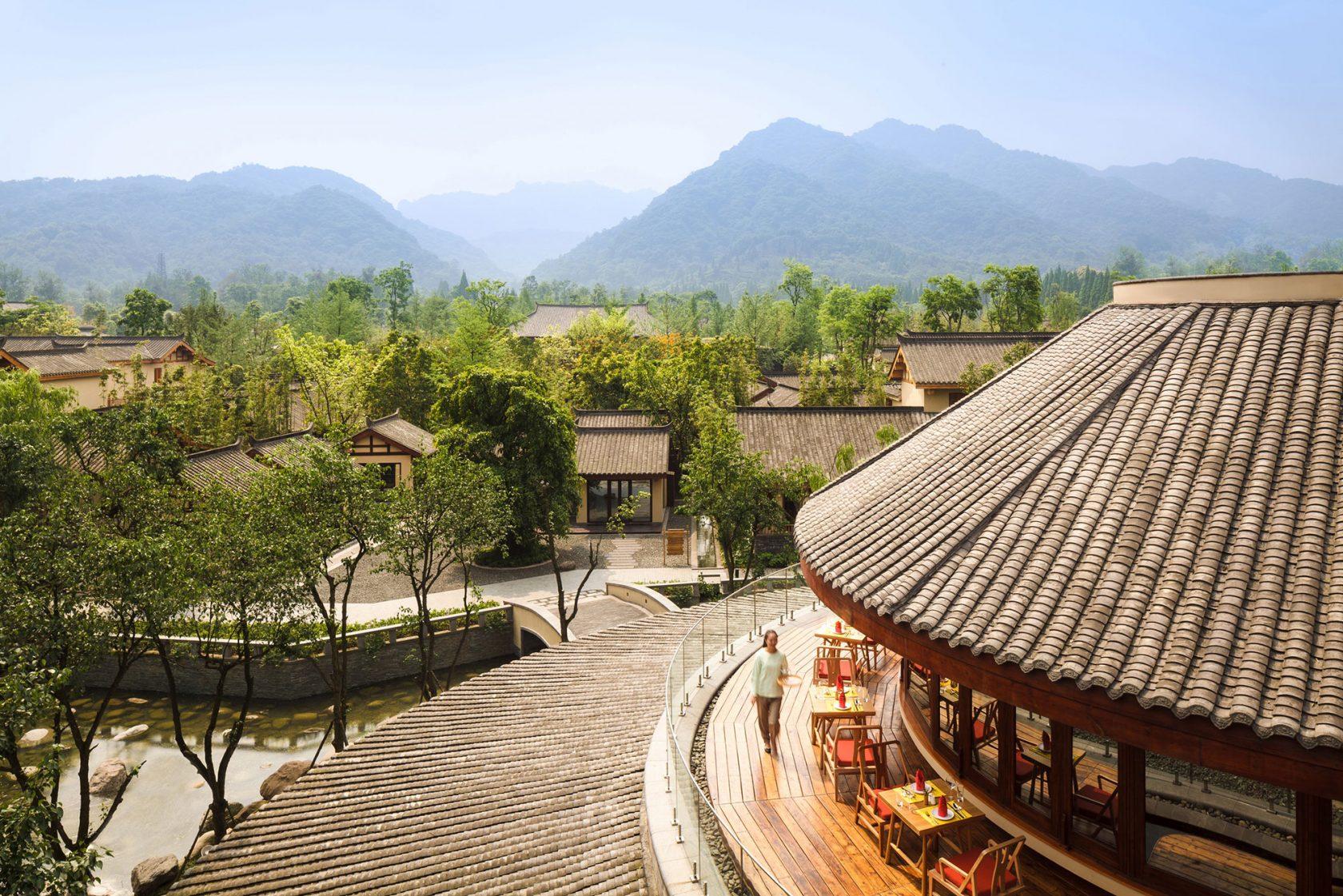 Six Senses Qing Cheng Mountain Sala Thai View