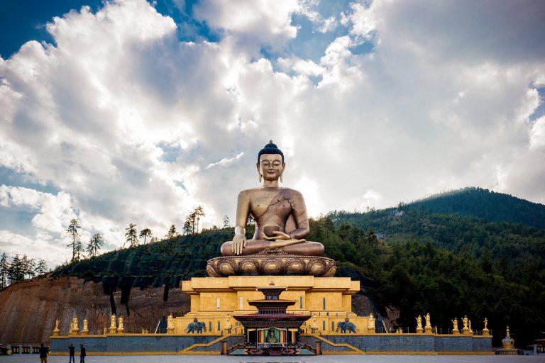 Six Senses Thimphu, Bhutan: Buddha Dordenma in Thimphu