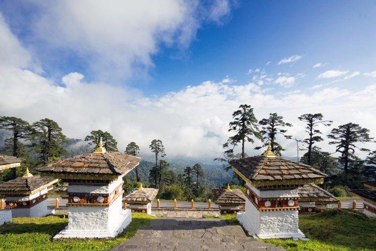 Six Senses Thimphu, Bhutan: Dochula Pass