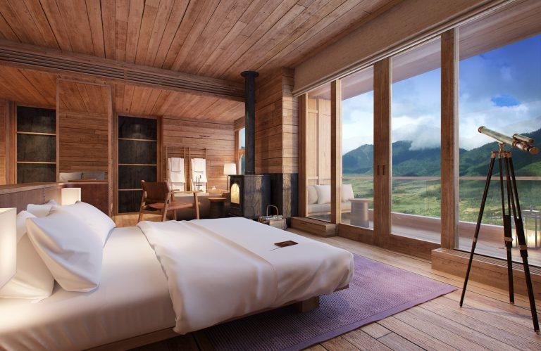 Six Senses Gangtey, Bhutan: Suite mit Teleskop