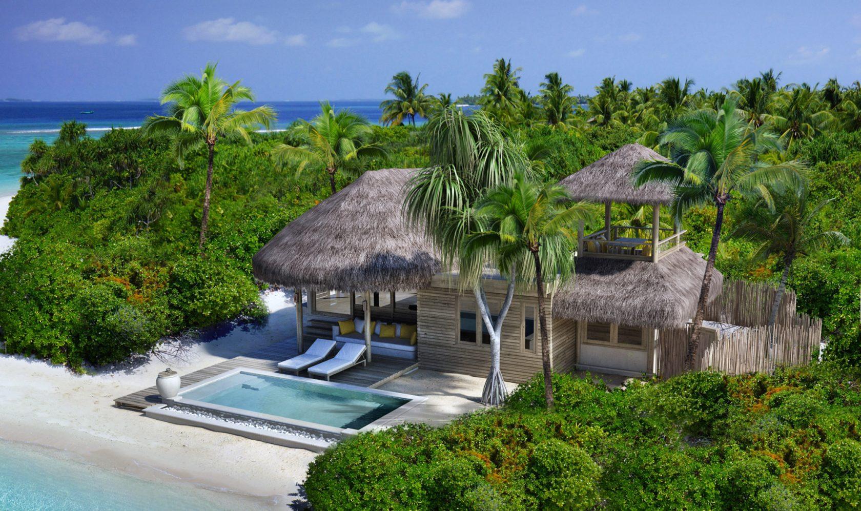 Six Senses Laamu, Malediven – Family Villa With Pool