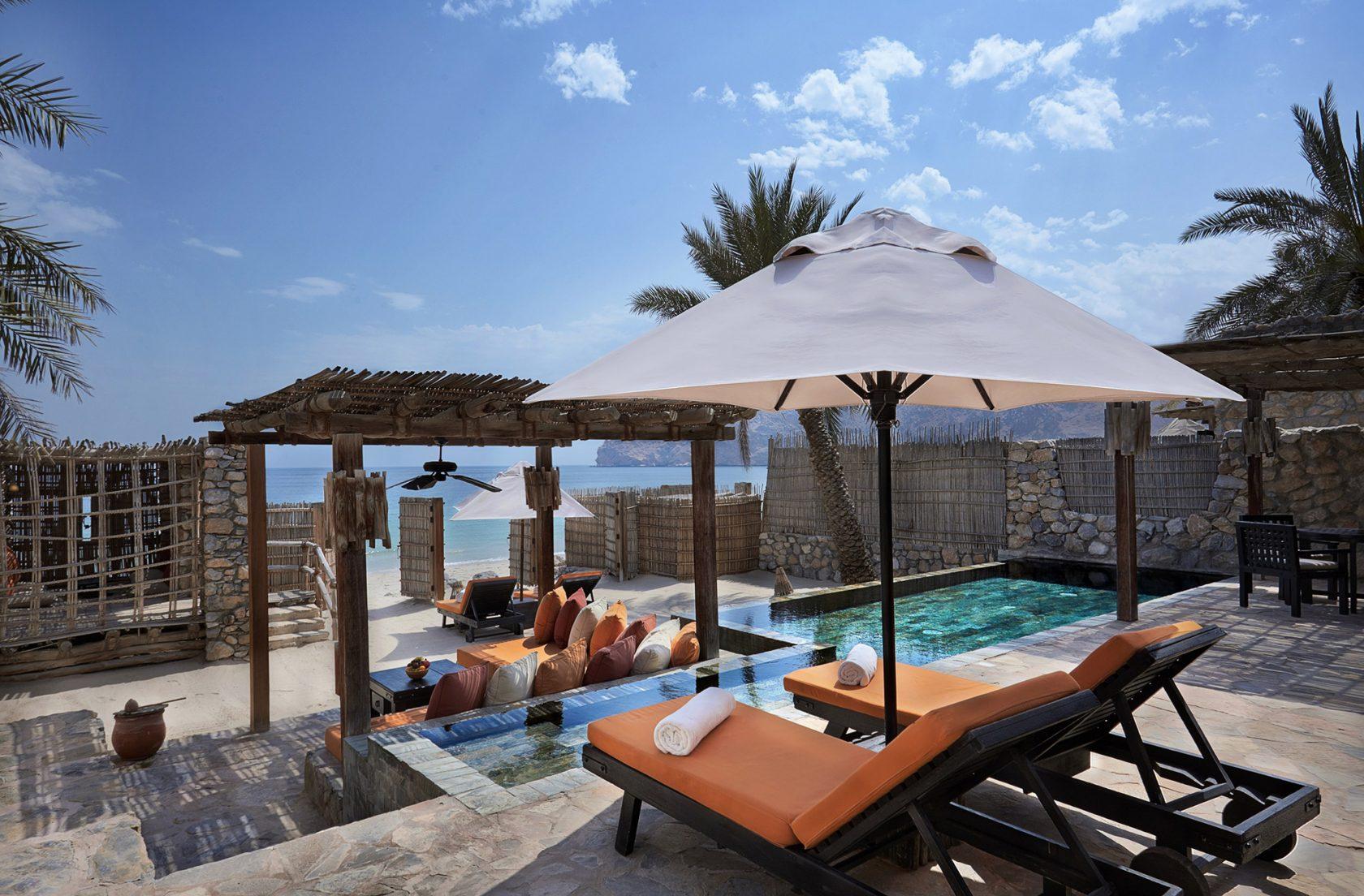Six Senses Zighy Bay, Oman – Pool Villa Suite Beachfront