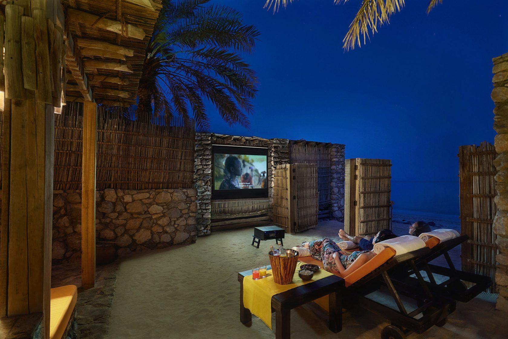 Six Senses Zighy Bay, Oman – In-Villa Cinema Paradiso