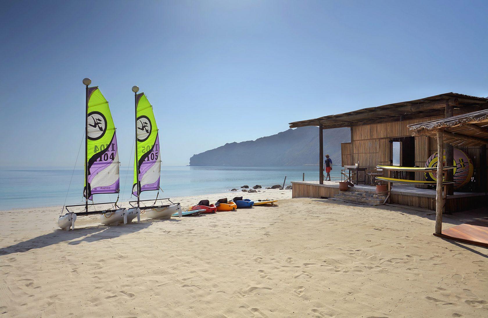 Six Senses Zighy Bay, Oman – Wassersport