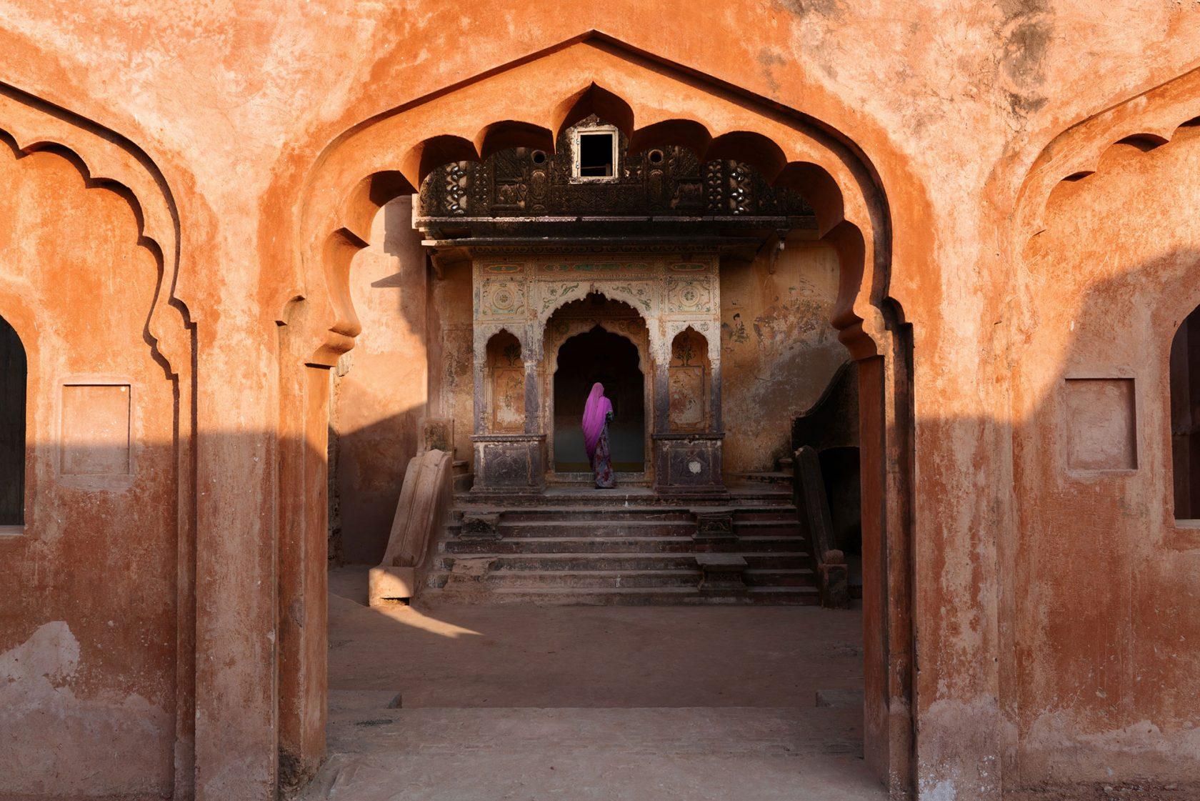 Six Senses Fort Barwara Spa Eingang