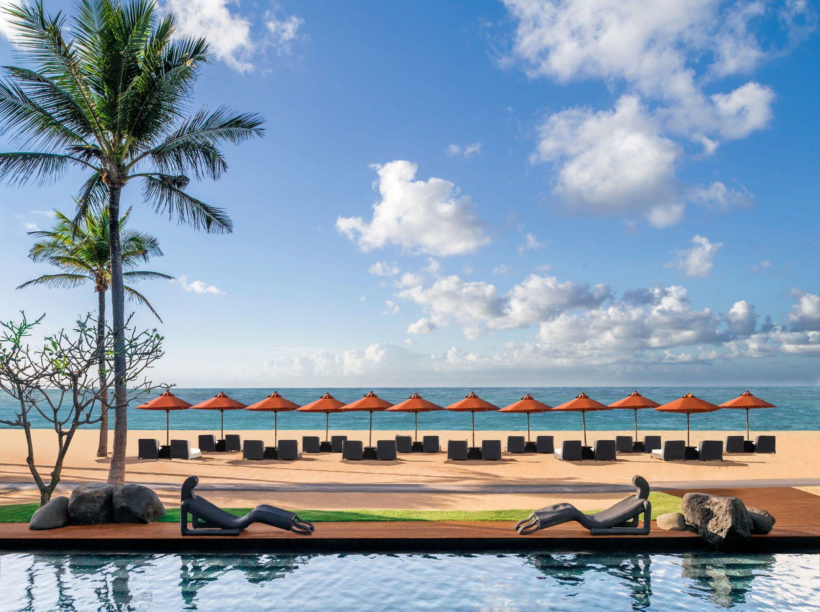 The St. Regis Bali Beach and Pool