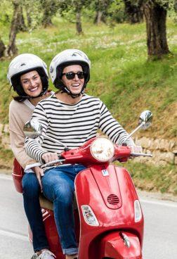 TUI BLUE Selection - Il Castelfalfi - Unterwegs mit der Vespa