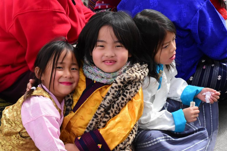 Tempelfest in Bhutan