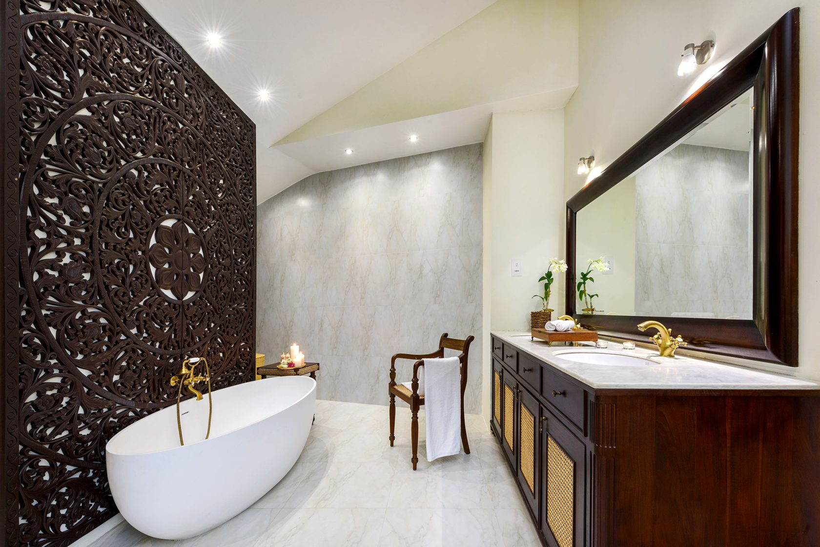 Ulagalla by Uga Escapes Nikawewa Villa Bathroom