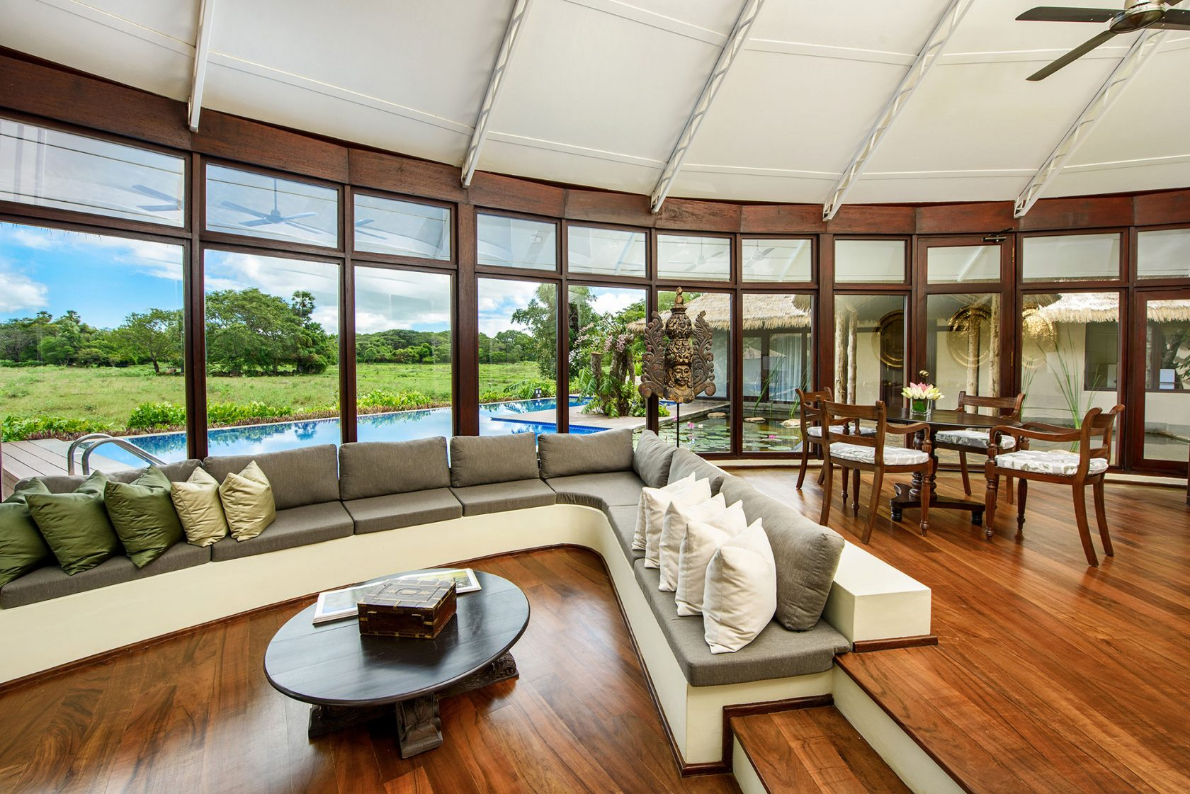 Ulagalla by Uga Escapes Nikawewa Villa Livingroom