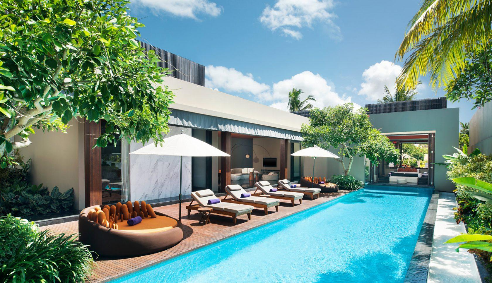 W Bali Seminyak – Extreme WOW Villa mit Pool