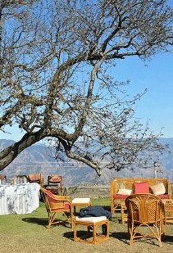 Wildflower Hall Oberoi - Picknick am Gipfel
