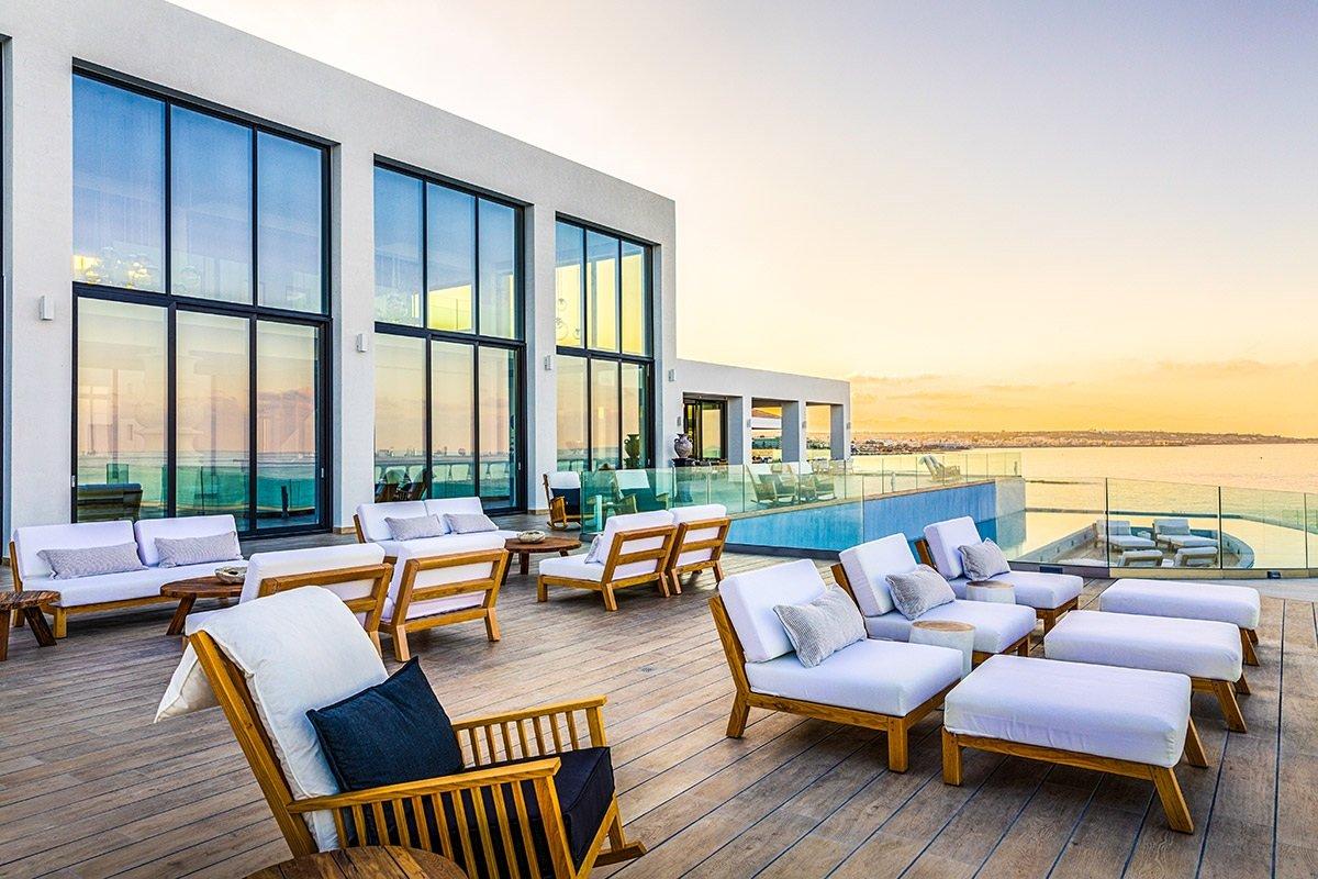 Abaton Island Resort Kreta – Außenterrasse
