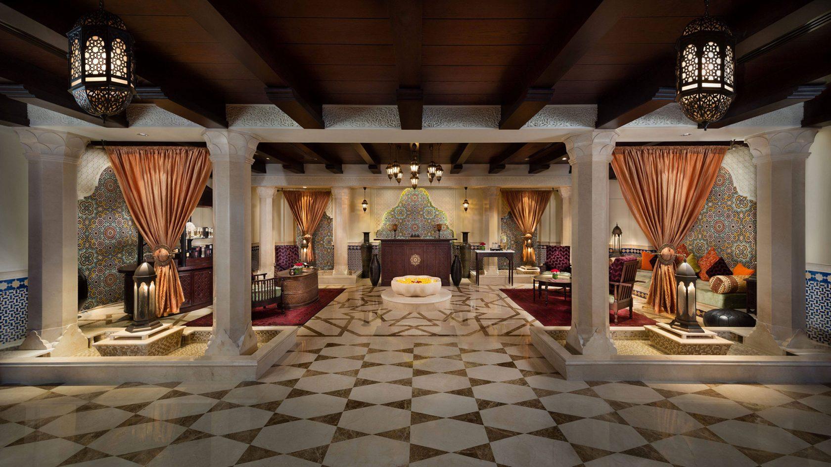 Emirates Palace Spa Reception