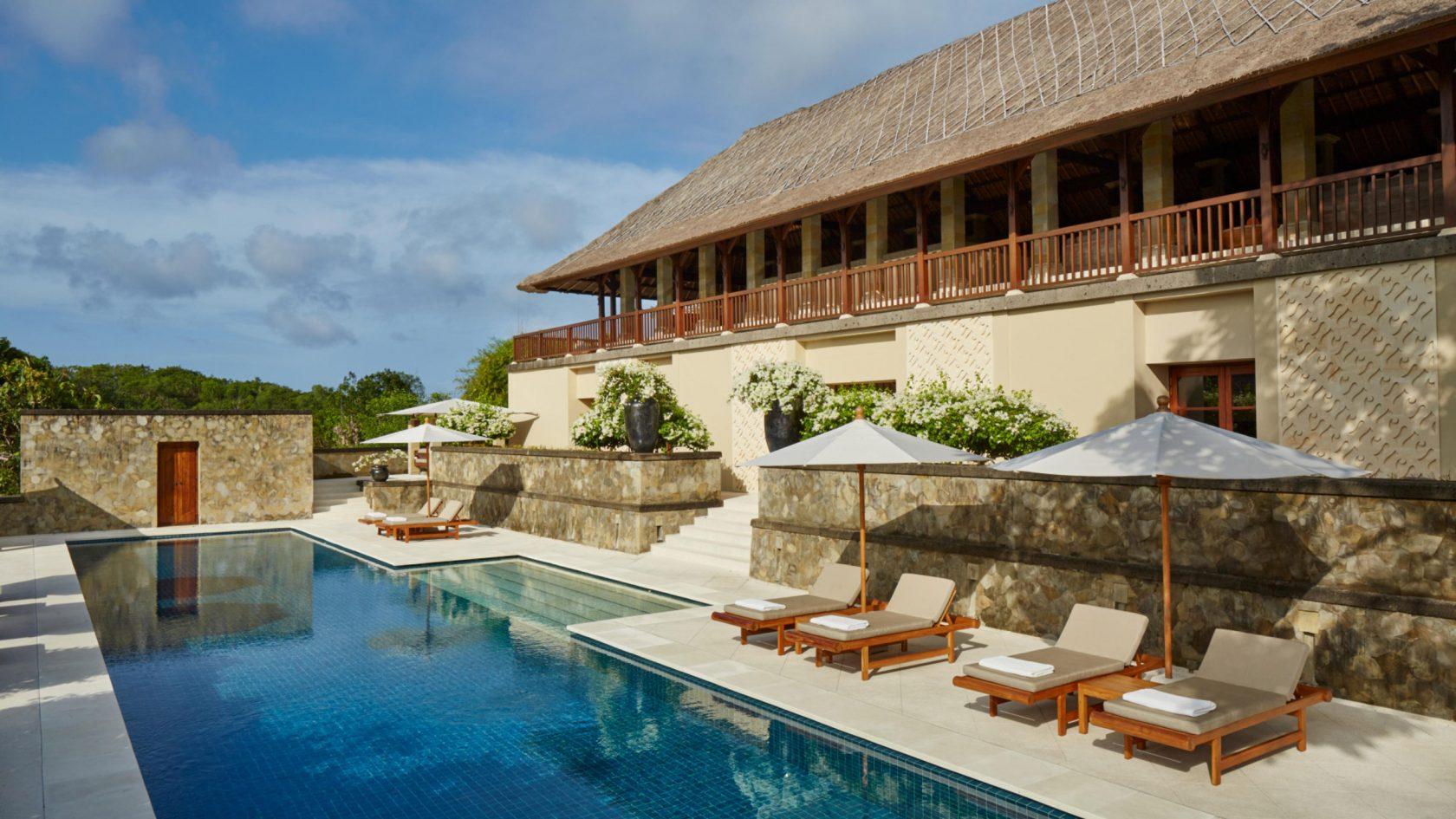 Aman Villas at Nusa Dua - Villa Pool, 4 Schlafzimmer