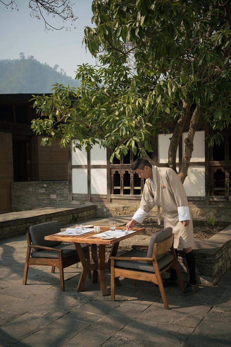 Amankora Punakha, Bhutan – Dinner