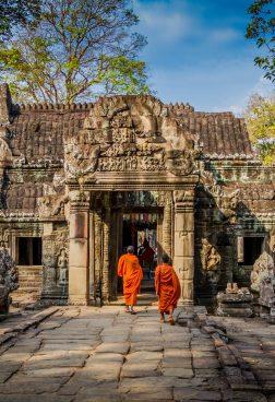 Angkor Wat – Tempelanlagen von Angkor, Siem Reap/ Kambodscha
