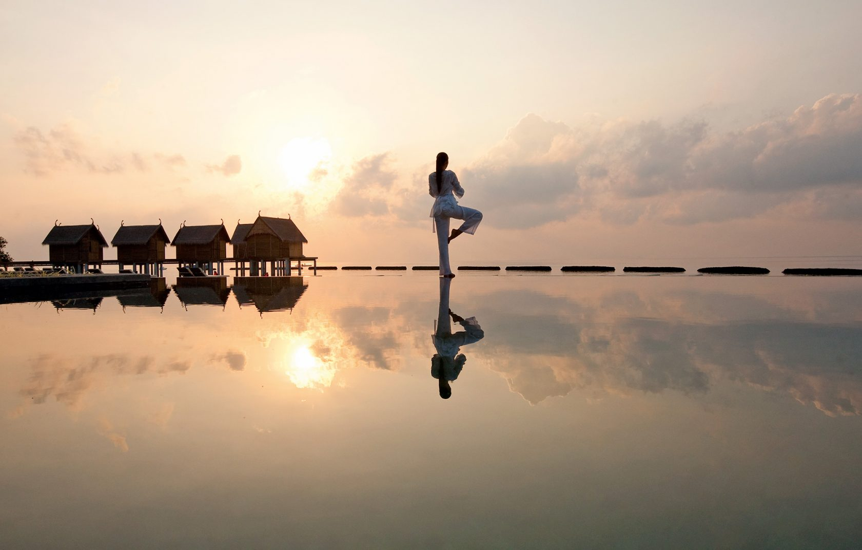 Constance Moofushi Maldives, Luxusresort Malediven – Yoga