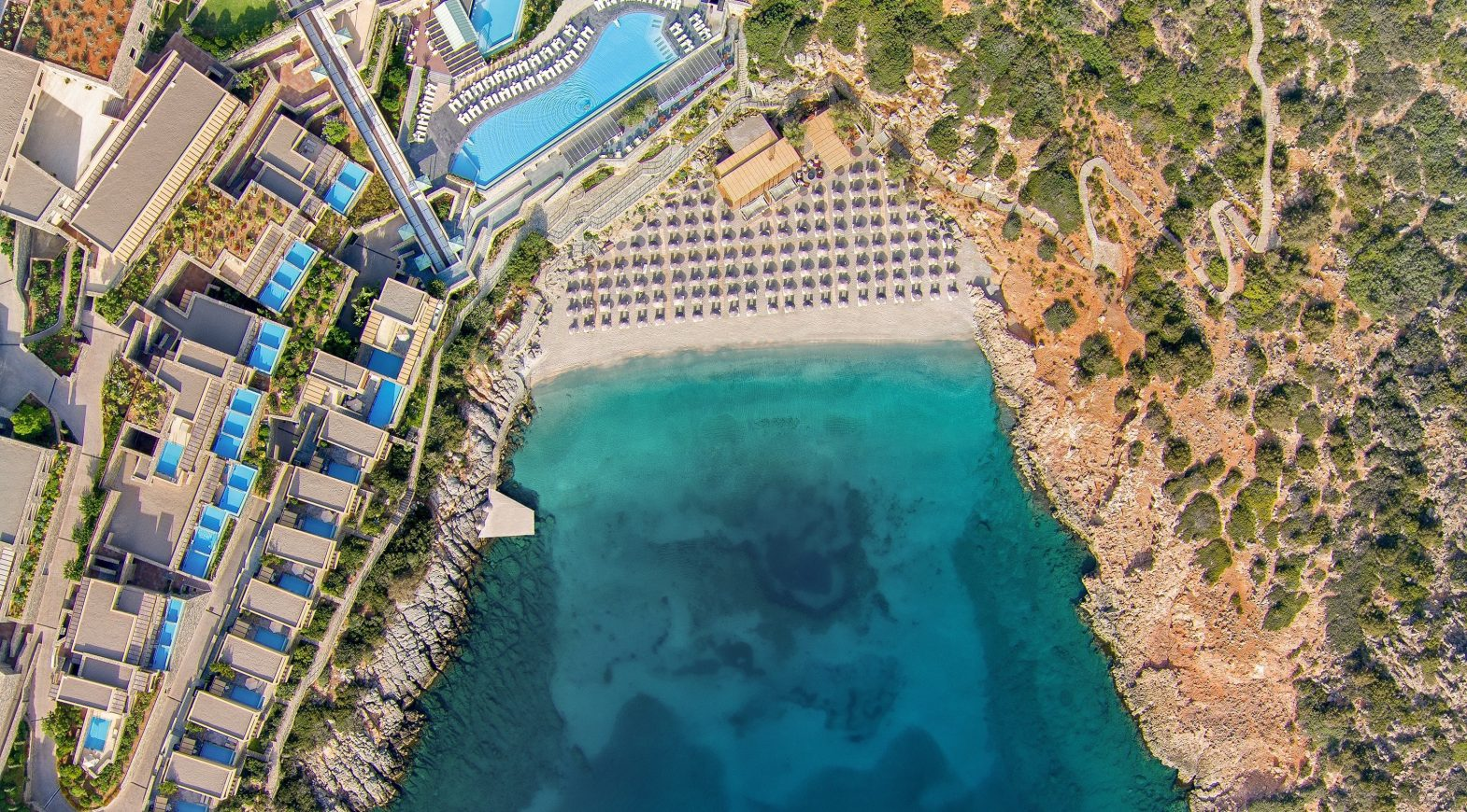 Daios Cove Luxury Resort & Villas, Kreta - Strand