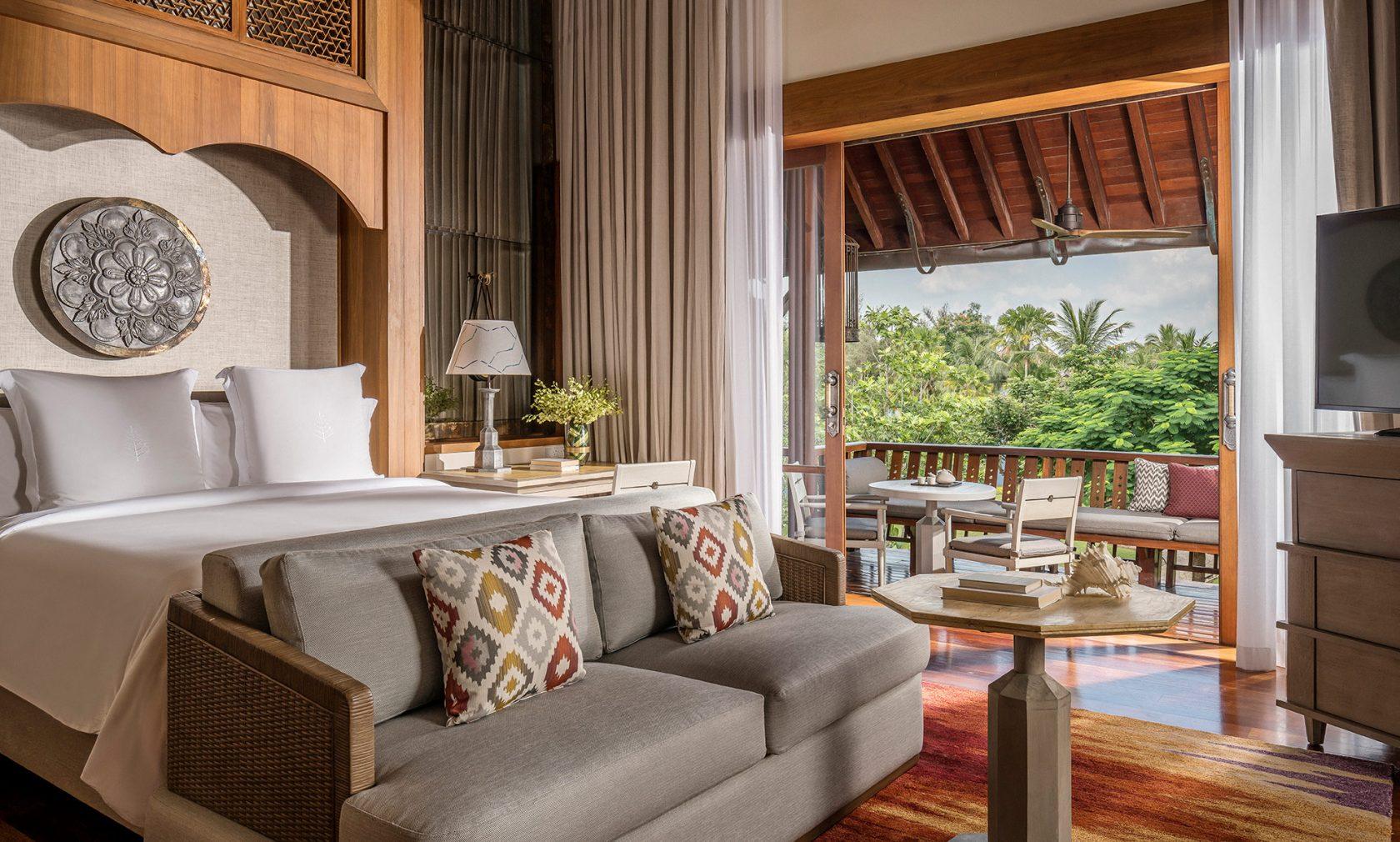 Four Seasons Langkawi – Schlafzimmer Garden View Villa