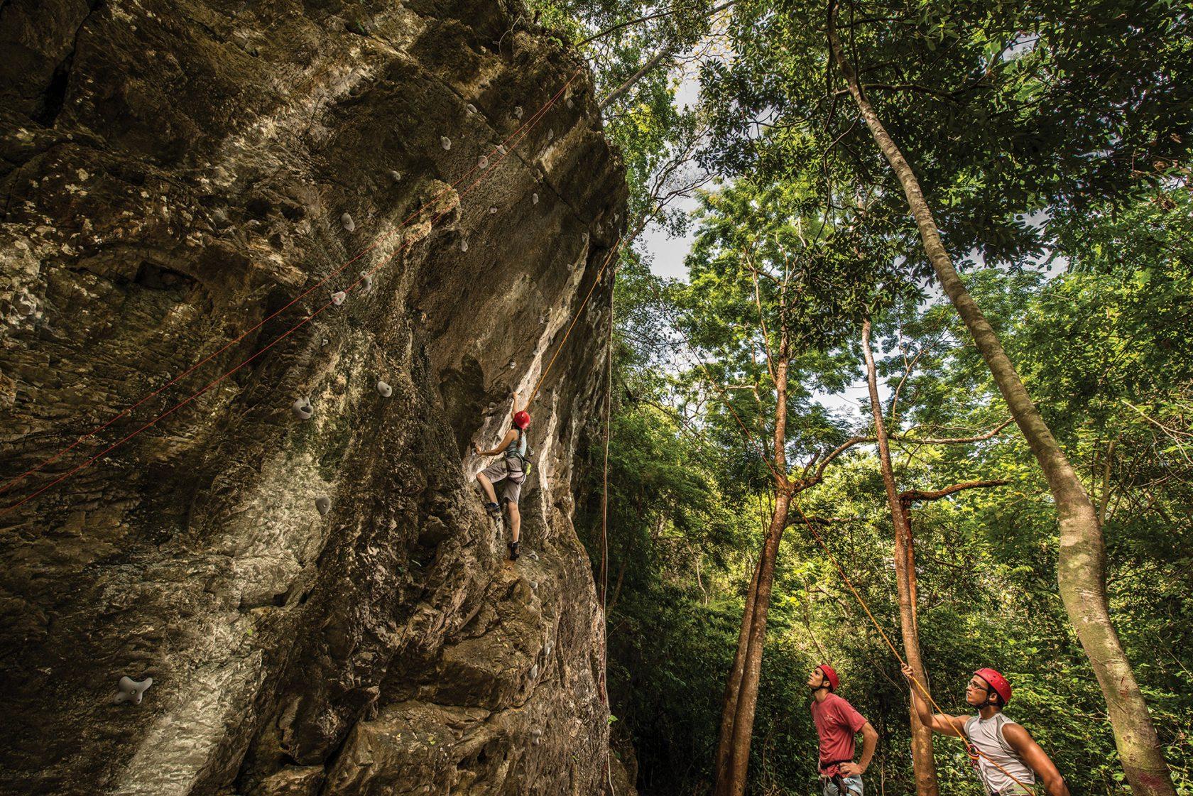 Four Seasons Langkawi – Klettern