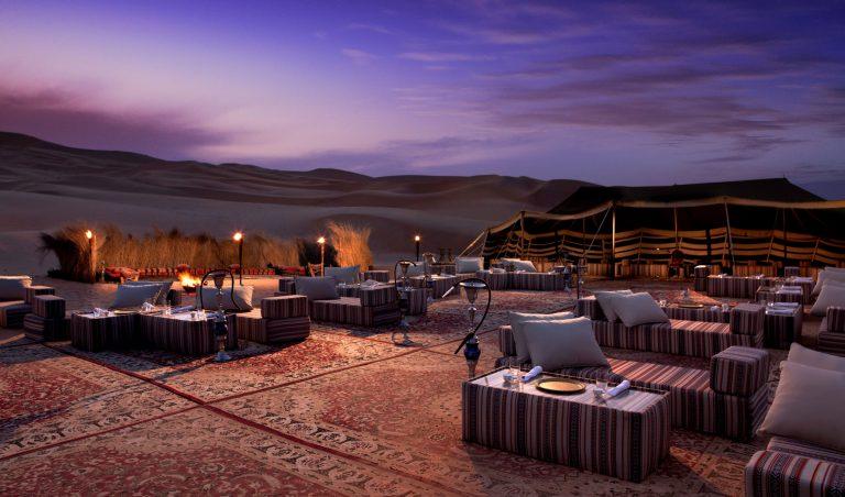 Luxusreise Abu Dhabi – Wüstenresort