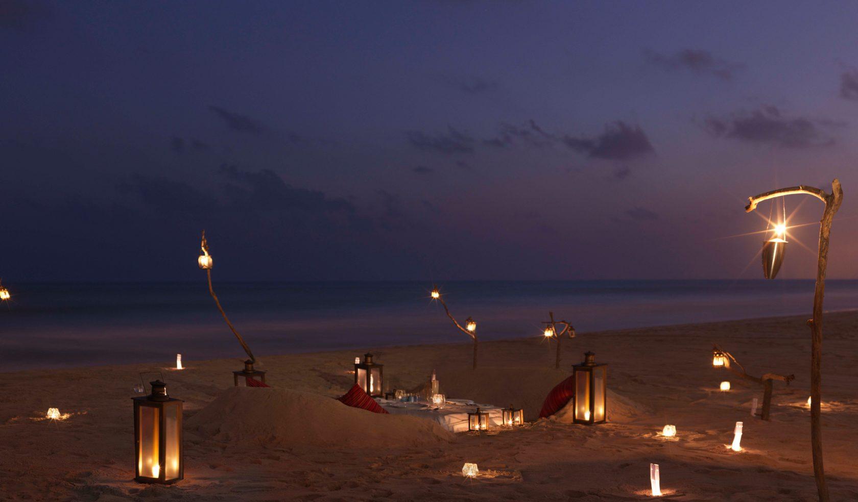 Privatreise Oman – Picknick am Strand