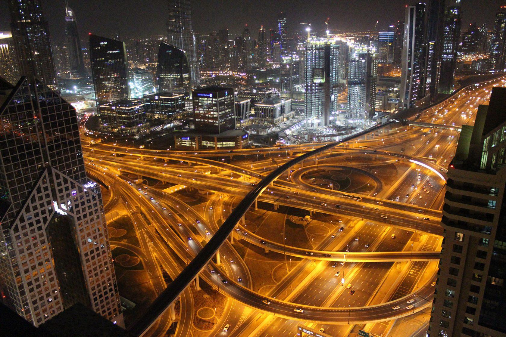 Verkehr Dubai