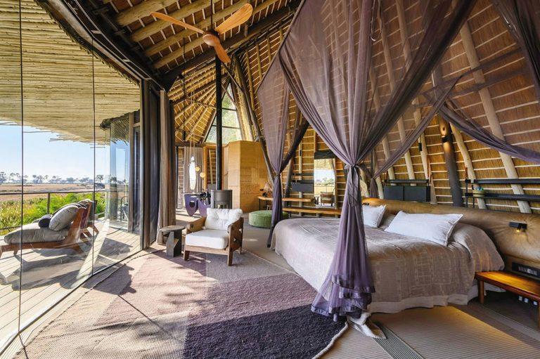 Privatjet Reise – Camp in Afrika