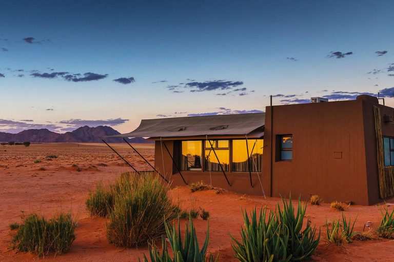 Privatjet Reise – Sossuvlei Lodge
