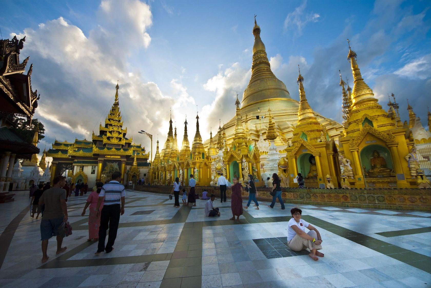 Privatreise, private Rundreise Myanmar: Goldene Pagode